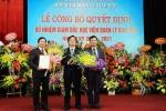 GS Phạm Quang Trung trở thành giám đốc Học viện Quản lý giáo dục