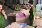 Thu giữ hàng nghìn đồ chơi trẻ em mang nhãn Trung Quốc đang trên đường đi tiêu thụ