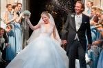 Đám cưới xa hoa 3 ngày 3 đêm của cô gái thừa kế đế chế pha lê số 1 thế giới