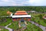 Toàn cảnh nhà thờ Tổ sơn son thiếp vàng 100 tỷ của Hoài Linh
