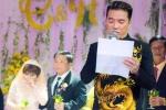 Đàm Vĩnh Hưng nghẹn ngào khóc, đọc thơ trong lễ cưới em gái