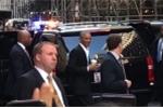 Đám đông chào đón ông Obama như minh tinh khi mua cà phê ở New York