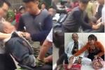 Khởi tố 2 bố con hành hung thương binh nhập viện sau va chạm giao thông