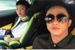 Vắng Hà Hồ, Cường Đô La đánh siêu xe 26 tỷ đồng mới tậu đưa Subeo đi chơi