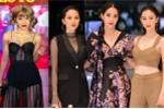 Phương Trinh Jolie xuyên thấu từ đầu đến chân, sexy 'lấn át' ba nàng Hoa hậu