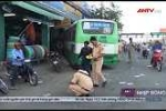 Tài xế nhanh trí cứu mạng hành khách trên xe buýt mất phanh