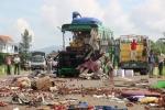 Video: Hiện trường tai nạn thảm khốc 5 người chết ở Bình Định