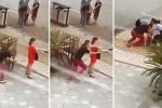 Cảnh sát 'hạ gục' cô gái cầm dao thái thịt dọa tự tử