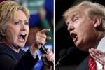 Bầu cử Tổng thống Mỹ: Clinton đối đầu Trump, ai sẽ thắng