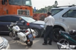 'Hung thần' container gây tai nạn liên hoàn ở TP.HCM