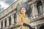 Ngọc Loan The Face hóa thành tiểu thư giữa Rome tráng lệ và Venice mơ mộng