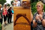 Nữ du khách ngã dập mặt vì 'bẫy' móc sắt trên đường Sài Gòn