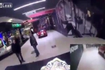 Môtô điên lao vào trung tâm mua sắm gây náo loạn