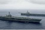 Báo Trung Quốc chỉ trích Mỹ cho tàu sân bay hoạt động gần Biển Đông