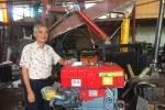 PGS.TS Nguyễn Bính thành công trong ứng dụng công nghệ máy ép cọc hộ lan đường ô tô