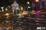 Đường Sài Gòn lại ngập nặng sau cơn mưa lớn