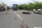 Xe buýt tông xe máy ở Sài Gòn, 2 phụ nữ thương vong