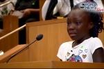 Video: Cô bé da màu và những chia sẻ lấy nước mắt cả nước Mỹ