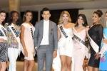 Á vương Ngọc Tình quấn quýt bên các người đẹp Miss Eco International