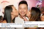 Thản nhiên ôm hôn fan nữ sexy, Tuấn Hưng bị vợ 'dằn mặt'