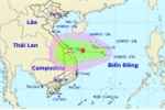 Áp thấp nhiệt đới có khả năng thành bão, tiến thẳng miền Trung