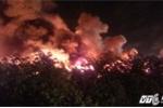 Cháy rực trời ở công ty sản xuất nến tại Hải Phòng