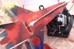 Học sinh miền núi ở Huế chế tạo thành công máy bay thăm dò dám cháy