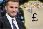 David Beckham thu thêm hàng chục triệu USD từ Trung Quốc