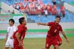Video: Công Phượng tiếp lửa, U15 Việt Nam vùi dập U15 Đài Loan