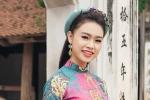 Kiều nữ học giỏi nhất Hoa hậu Việt Nam khoe sắc với áo dài ngày Xuân