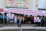 Hàng trăm nhân viên Big C Đà Nẵng xuống đường kêu cứu