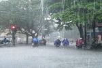 Cảnh báo mưa dông, gió giật mạnh ngày cuối tuần