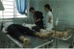 Nổ bình gas trong buổi liên hoan, 10 học sinh nhập viện