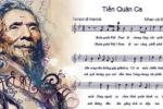 Gia đình cố nhạc sĩ Văn Cao tặng 'Tiến quân ca' cho đất nước