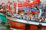 Tàu tham gia lễ hội lật chìm ở Gành Hào - Bạc Liêu: Vẫn còn 1 cô gái mất tích