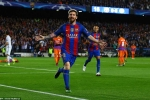 Kết quả bóng đá Champions League: Messi rực sáng, Barca thắng đậm Man City
