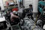 Tàu vỏ thép chục tỷ 'đắp chiếu': Lấy động cơ trên bộ lắp cho máy thủy