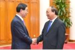 Thủ tướng Nguyễn Xuân Phúc tiếp Đặc phái viên của Tổng thống Hàn Quốc