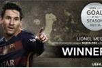 Siêu phẩm của Messi được bầu chọn đẹp nhất châu Âu