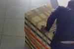 Clip nghi phạm kéo thùng xốp chứa thi thể nữ sinh Sài Gòn qua camera an ninh