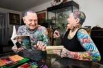 Cặp vợ chồng sở hữu nhiều hình xăm nhất thế giới