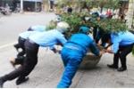 Thành phố Huế cũng rầm rộ vào cuộc dẹp 'cướp' vỉa hè