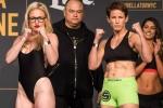 Mỹ nữ MMA diện đồ 2 mảnh lên sàn thách đấu