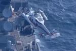 Mỹ - Nhật tìm 7 thuỷ thủ mất tích sau vụ va chạm tàu chiến