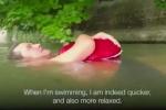 Kỳ lạ người đàn ông mỗi ngày bơi 2 km đi làm ở Đức