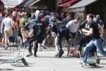 Trước trận chung kết Euro 2016: Pháp vật lộn với hooligan và ẩu đả