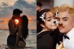Quỳnh Anh Shyn diện bikini khoá môi tình mới, Will cũng công khai bạn gái