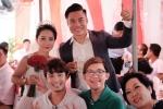 Dàn diễn viên hài mừng đám cưới Quán quân 'Cười xuyên Việt'