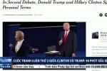 Báo Mỹ gọi cuộc tranh luận lần 2 giữa Clinton và Trump là 90 phút 'xấu xí'