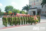 Sinh viên Học viện Cảnh sát tình nguyện ở vùng đất cực Nam Tổ quốc